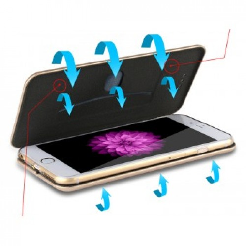 """Чехол-книжка Н1-190 """"WUW"""" К-35 для iPhone 6/6S"""