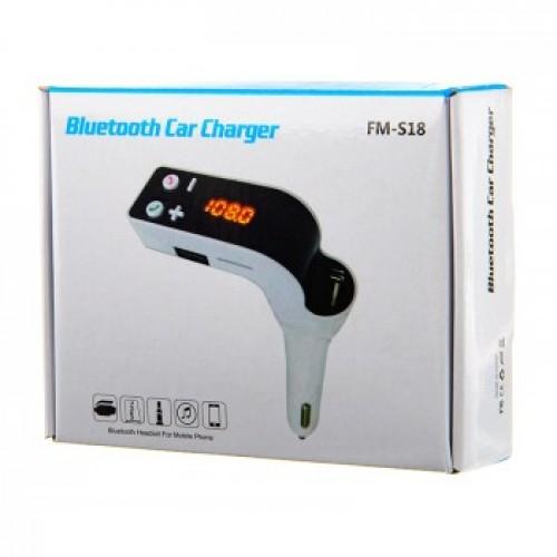 Bluetooth FM-модулятор FM-S18
