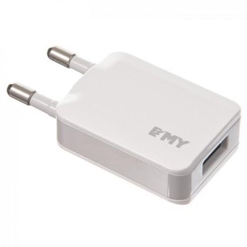 Сетевое зарядное устройство EMY MY-2231A + кабель microUSB