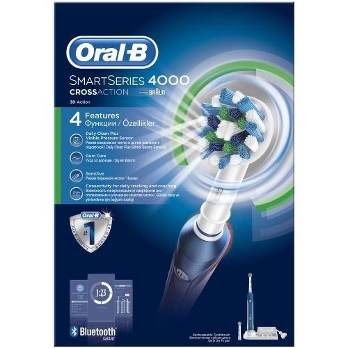 Зубная щетка BRAUN Pro 4000